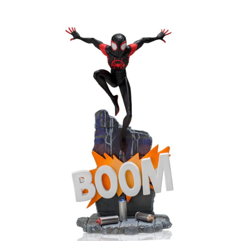 Iron Studios Miles Morales: Spider Man Into The Spider Verse BDS 1/10 Scale (Deluxe)