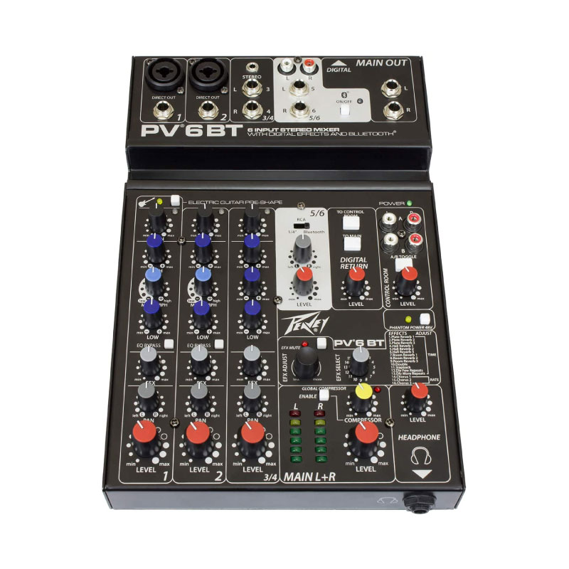 Peavey PV6BT Mixer