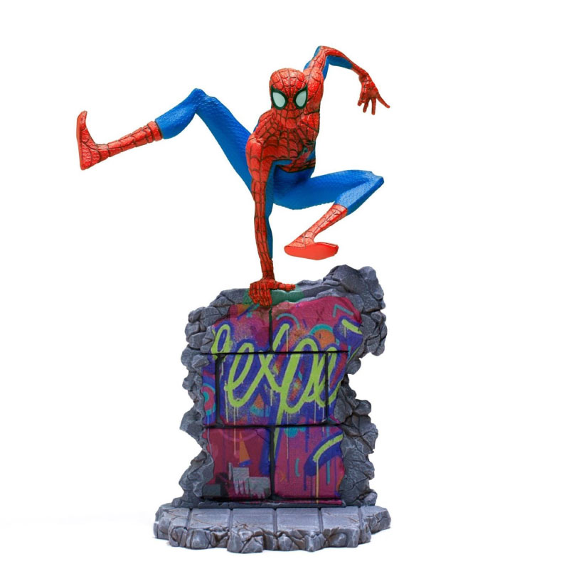 Iron Studios Peter B Parker: Spider Man Into The Spider Verse BDS 1/10 Scale (Deluxe)