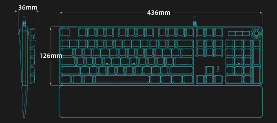 คีย์บอร์ด Philips SPK8605 Mechanical Gaming Keyboard ราคา
