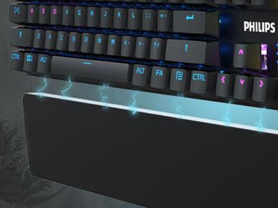 คีย์บอร์ด Philips SPK8605 Mechanical Gaming Keyboard ดีไหม