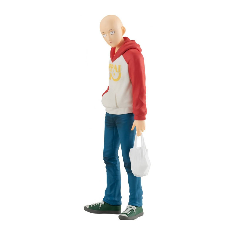 POP UP PARADE Saitama: OPPAI Hoodie Ver. One-Punch Man Figure