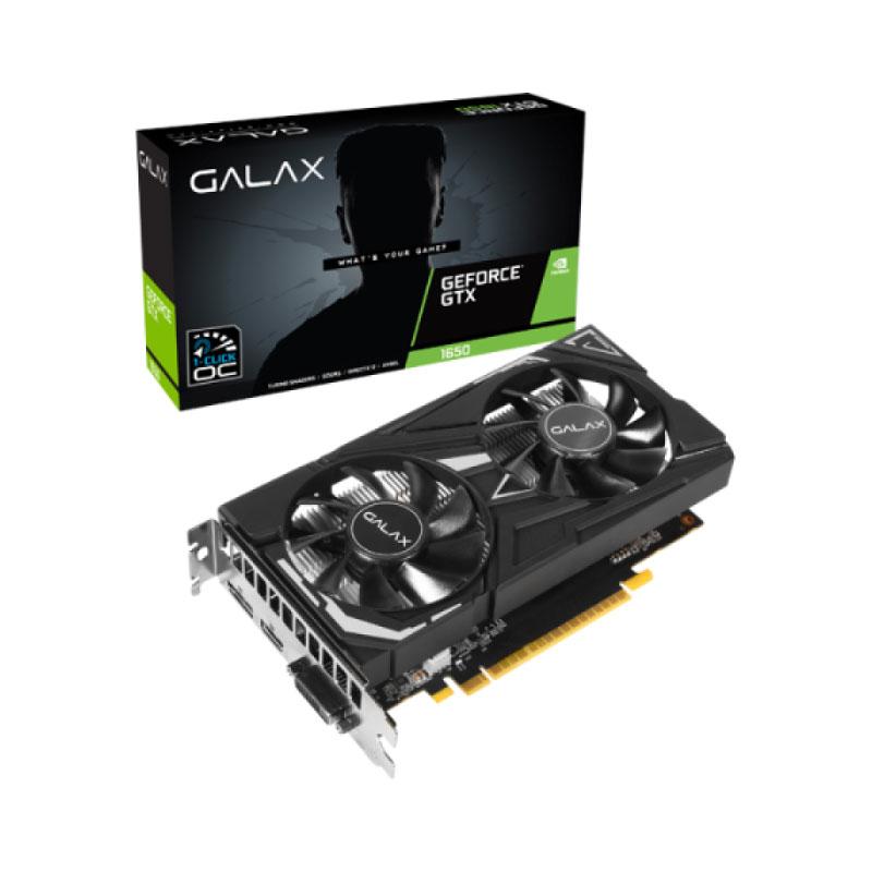 การ์ดจอ Galax Geforce GTX 1650 Super Ex-1 Click OC 4GB GDDR6 128 Bit VGA