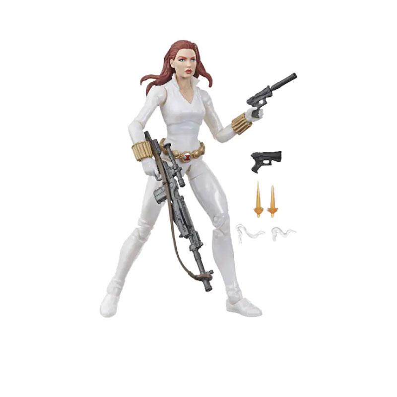 Hasbro Marvel Legend Series Black Widow White Death