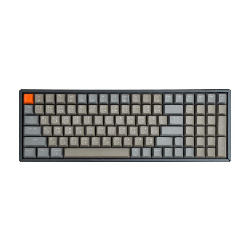 คีย์บอร์ดไร้สาย Keychron K4 Wireless Mechanical Keyboard TH