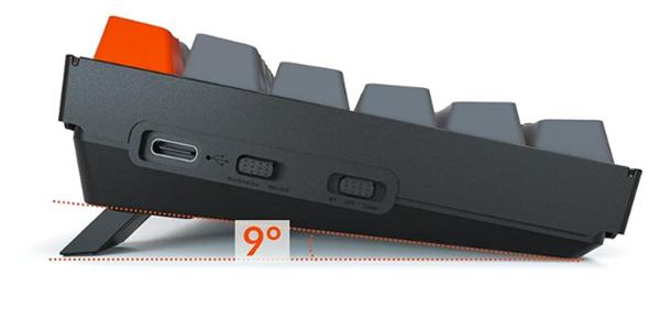 คีย์บอร์ดไร้สาย Keychron K2 Wireless Mechanical Keyboard TH คุ้มค่า