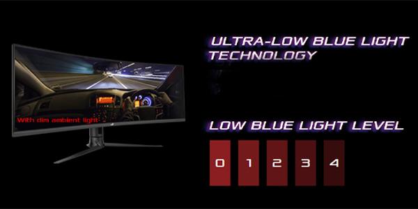 """จอคอม Asus ROG 43"""" VA Curved @ 120Hz XG43VQ Monitor FPS"""