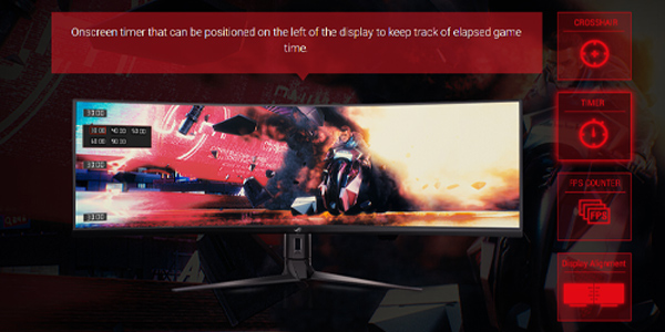 """จอคอม Asus ROG 43"""" VA Curved @ 120Hz XG43VQ Monitor คุ้มค่า"""