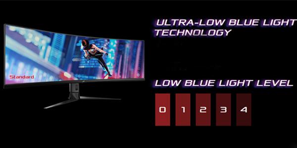 """จอคอม Asus ROG 49"""" VA Curved @ 144Hz XG49VQ Monitor Frame rate"""