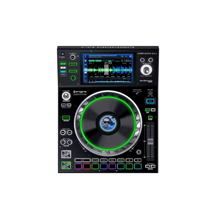 Denon DJ SC5000 Prime Professional Digital DJ Media Player