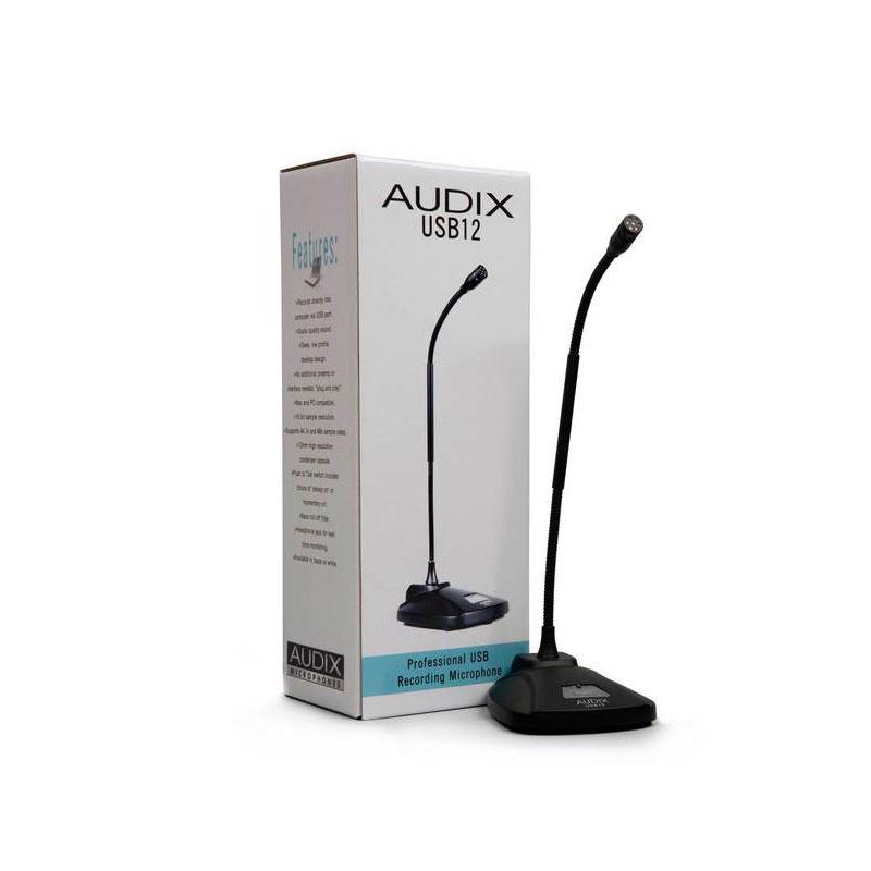 ไมโครโฟน AUDIX USB12 USB Condenser Microphone