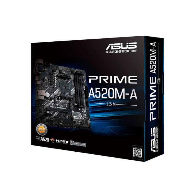 เมนบอร์ด Asus PRIME A520M-A/CSM Mainboard