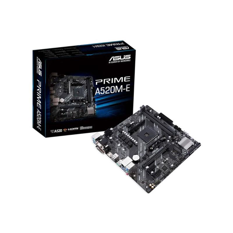 เมนบอร์ด Asus PRIME A520M-E Mainboard