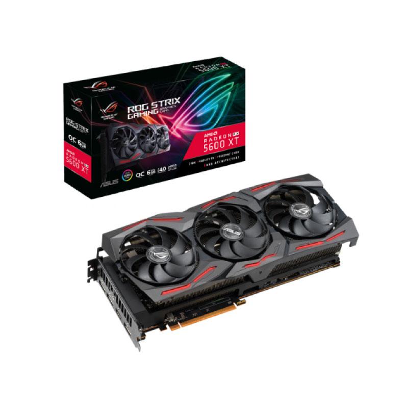 การ์ดจอ Asus ROG Strix RX 5600 XT 6GB GDDR6 192 Bit VGA