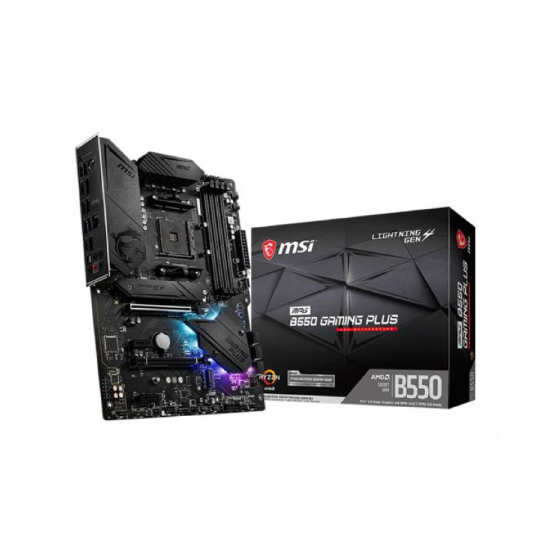 เมนบอร์ด MSI B550 GAMING PLUS Mainboard
