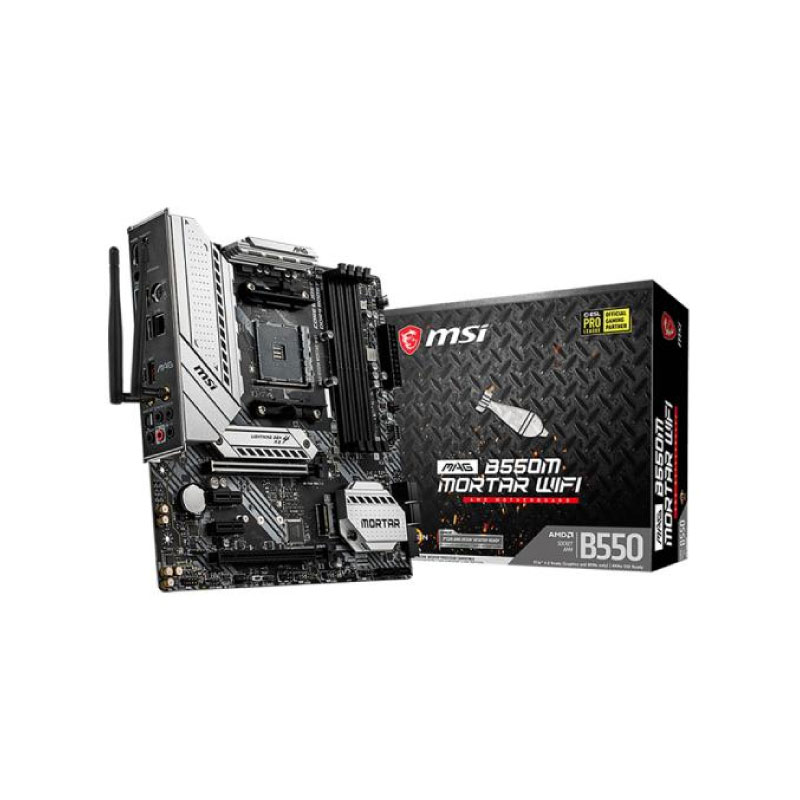 เมนบอร์ด MSI B550M MORTAR WIFI Mainboard