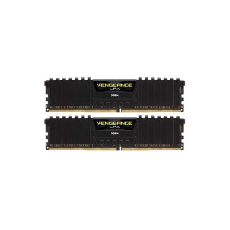 แรม Corsair 16GB (8GBx2) DDR4/2400 VENGEANCE LPX CMK16GX4M2A2400C14 Ram