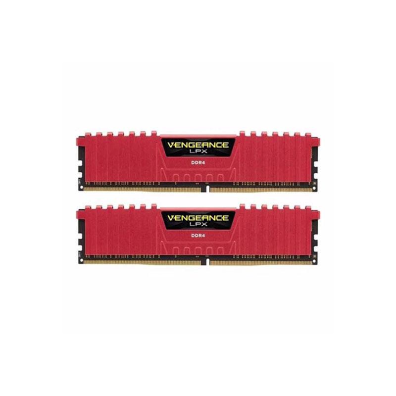 แรม Corsair 16GB (8GBx2) DDR4/2400 VENGEANCE LPX CMK16GX4M2A2400C14R Ram