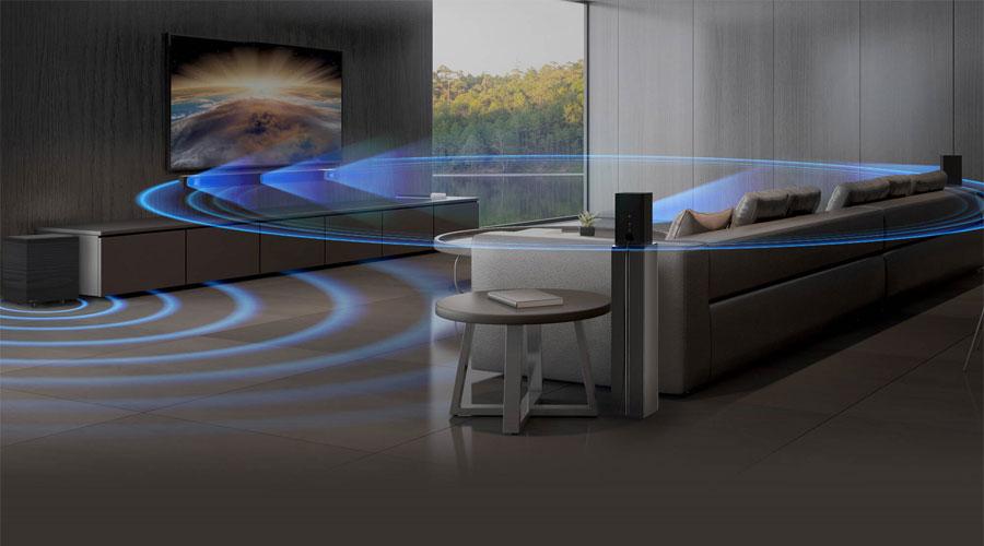 ลำโพง Klipsch Cinema 600 + Surround 3 Soundbar ราคา