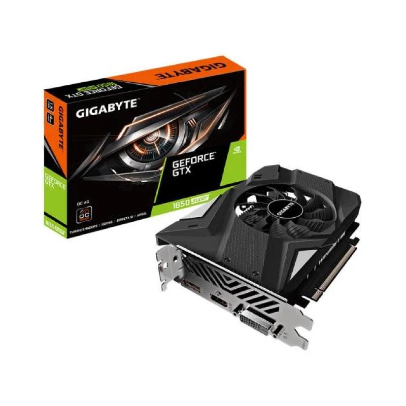 การ์ดจอ Gigabyte Geforce GTX 1650 Super OC 4GB VGA GDDR6 128 Bit VGA