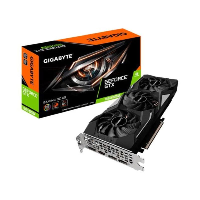 การ์ดจอ Gigabyte Geforce GTX 1660 Super Gaming OC 6GB GDDR6 192 Bit VGA