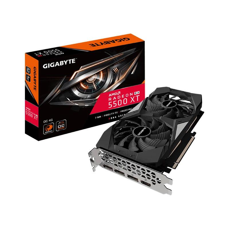 การ์ดจอ Gigabyte Radeon RX 5500 XT OC 4GB GDDR6 128 Bit VGA