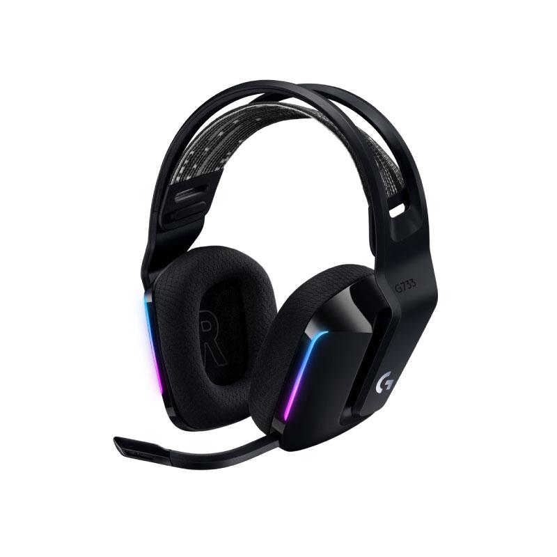 หูฟัง Logitech G733 Lightspeed Gaming Headphone