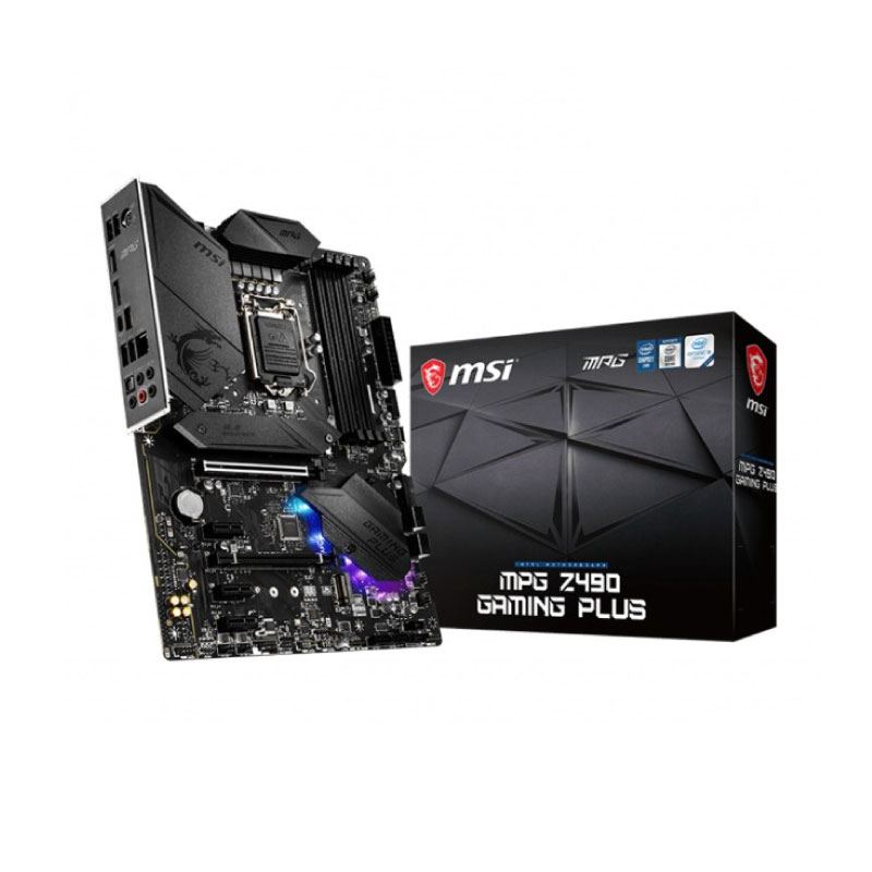 เมนบอร์ด MSI MEG Z490 GAMING PLUS Mainboard
