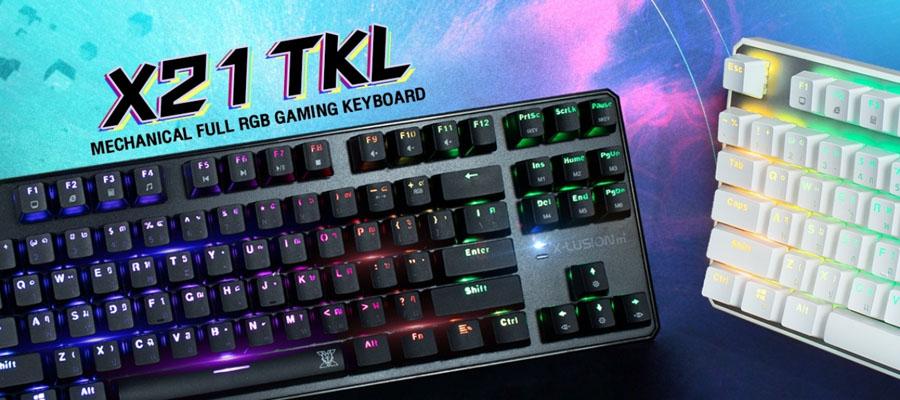 คีย์บอร์ด Nubwo X21 TKL RGB Mechanical Keyboard รีวิว