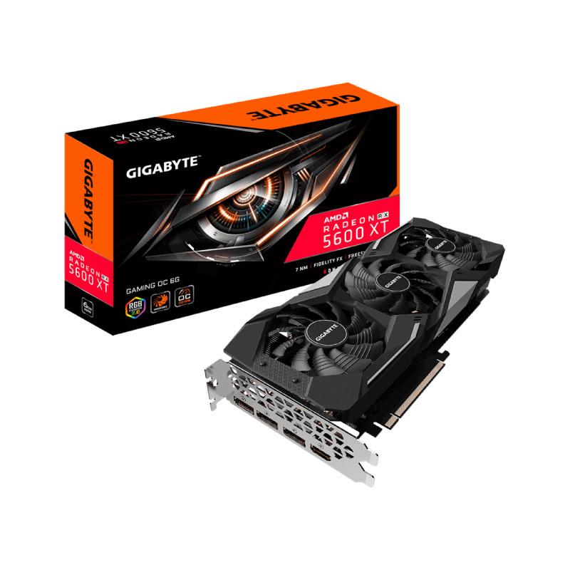 การ์ดจอ Gigabyte Radeon RX 5600 XT Gaming OC 6GB GDDR6 192 Bit VGA