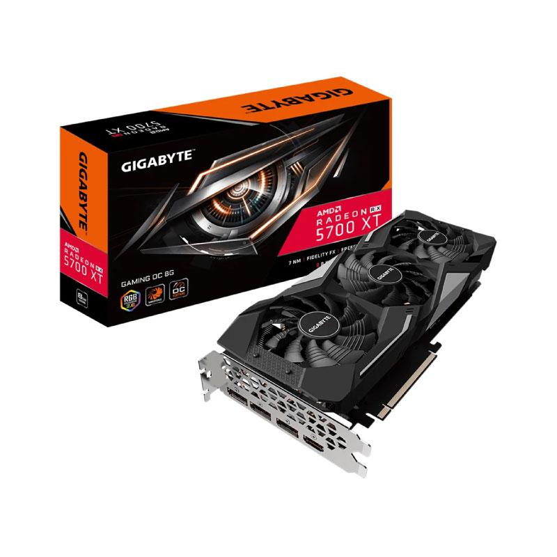 การ์ดจอ Gigabyte Radeon RX 5700 XT Gaming OC 8GB GDDR6 8GB 256 Bit VGA