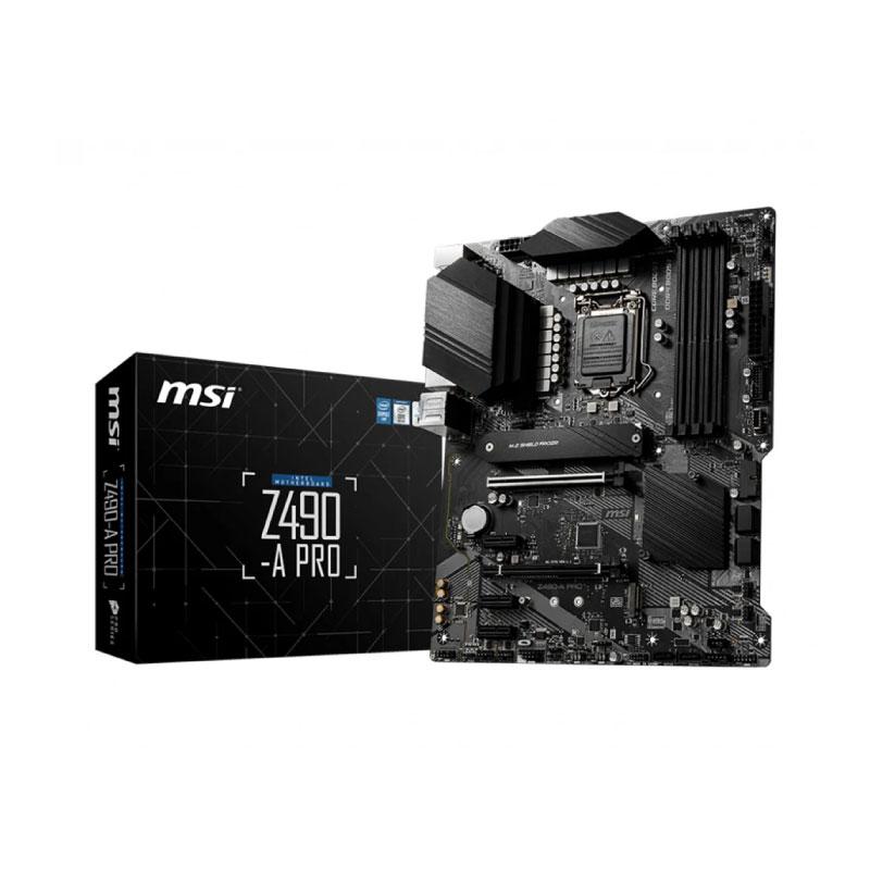 เมนบอร์ด MSI Z490-A PRO Mainboard