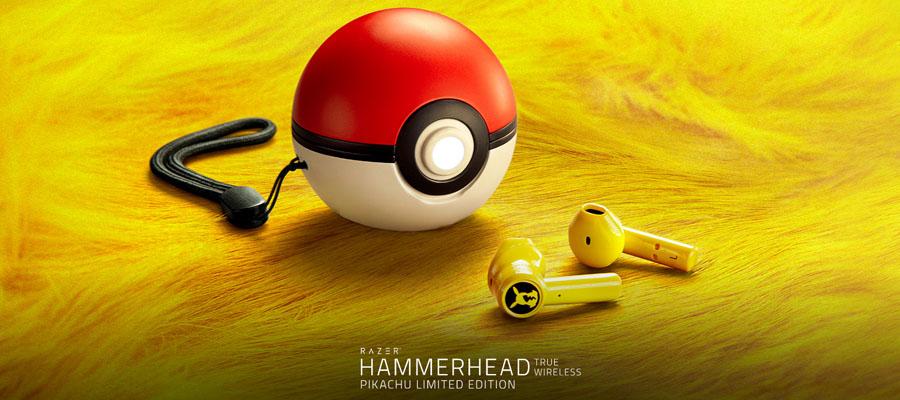 หูฟังไร้สาย Razer Hammerhead Pokemon Edition True Wireless รีวิว