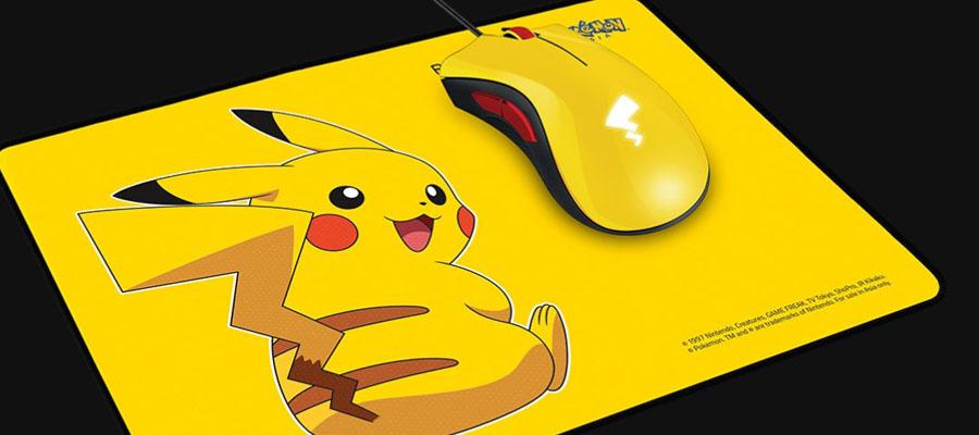 เมาส์ Razer Deathadder Essential Pokemon Edition Gaming Mouse With Mouse Pad รีวิว