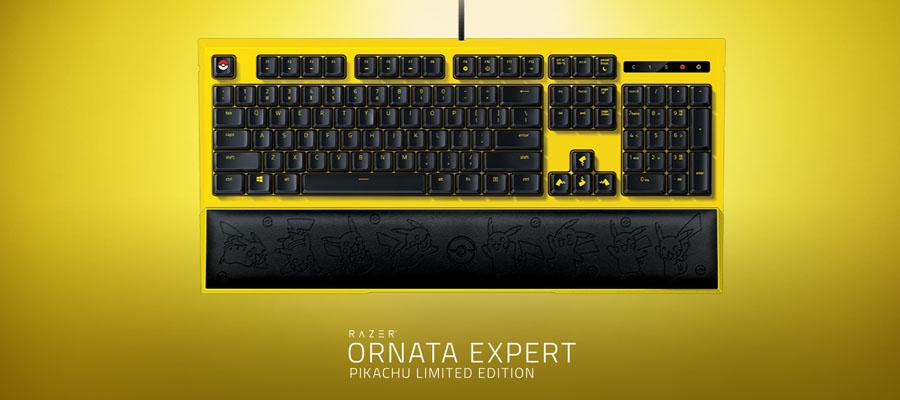 คีย์บอร์ด Razer Ornata Expert Pokemon Edition Gaming Keyboard ซื้อ-ขาย
