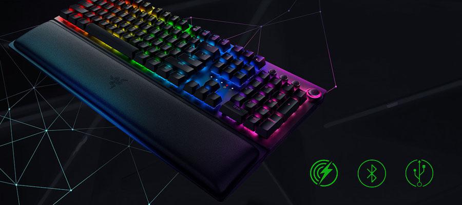 คีย์บอร์ด Razer Blackwidow V3Pro Green Switch Gaming Keyboard ราคา