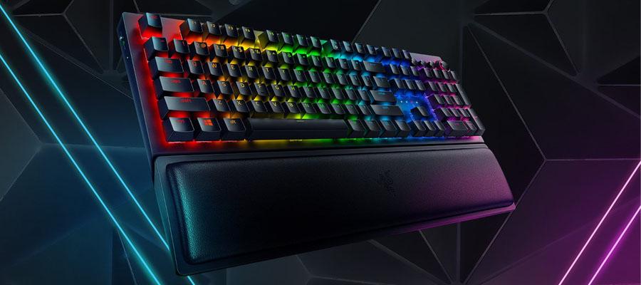 คีย์บอร์ด Razer Blackwidow V3Pro Green Switch Gaming Keyboard รีวิว