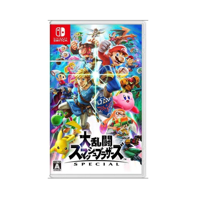 Nintendo DAIRANTOU SMASH BROS. SPECIAL (JAPAN) Game Console