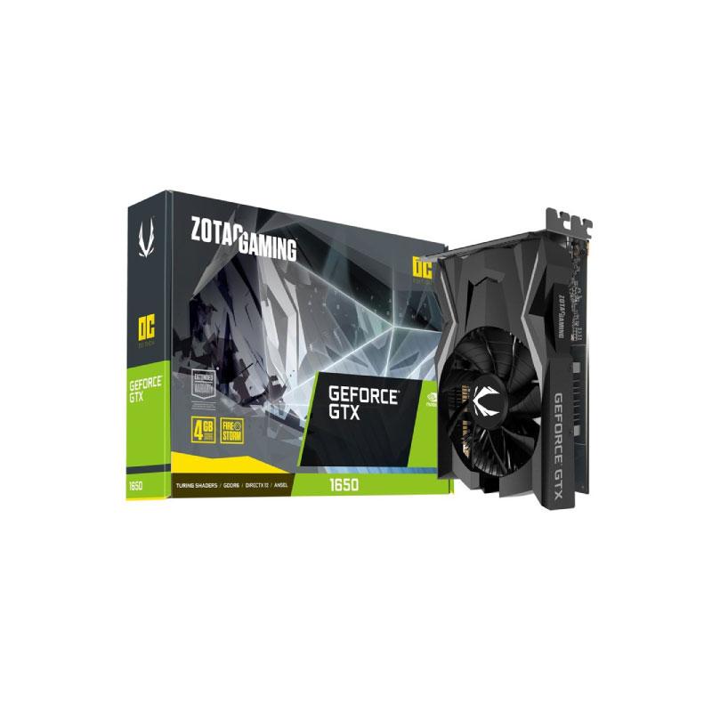 การ์ดจอ Zotac Geforce GTX 1650 OC GDDR6 128 Bit VGA