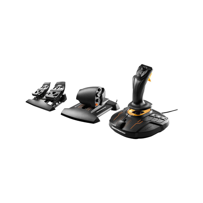 ชุดเล่นเกม THRUSTMASTER 2960782 T.16000M FLIGHT PACK For PC
