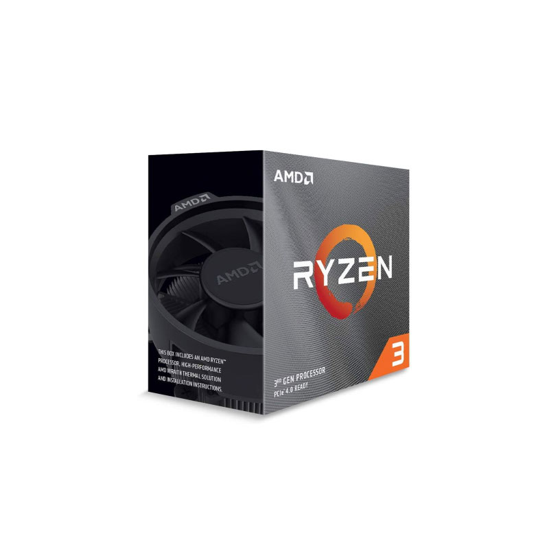 AMD Ryzen 3 3300X with Wraith Stealth Cooler CPU