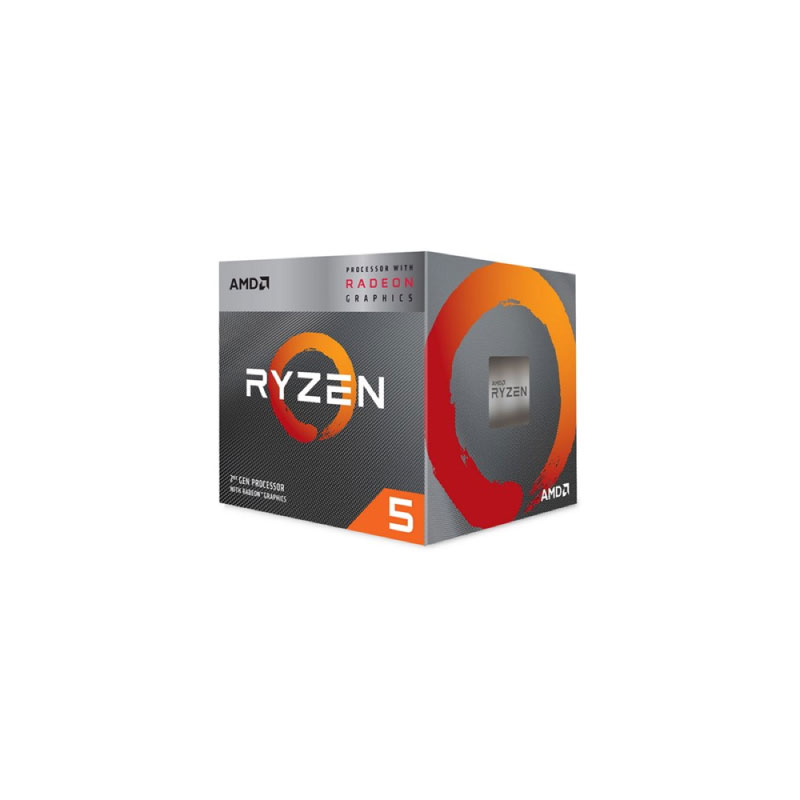 AMD Ryzen 5 3400G wiith Wraith Spire Cooler CPU