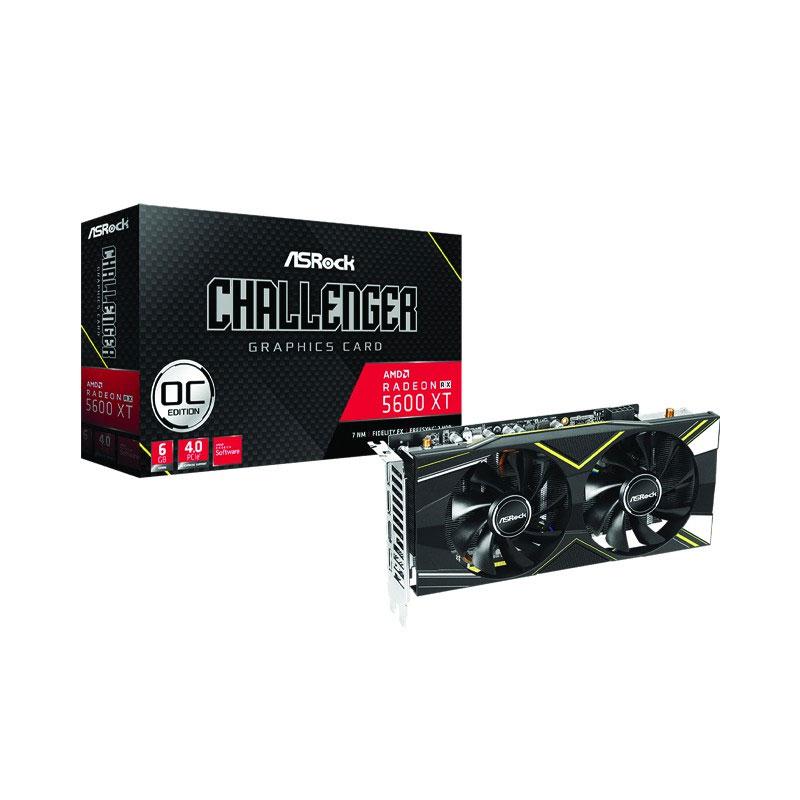 Asrock RADEON RX5600XT CHALLENGER D 6GO VGA