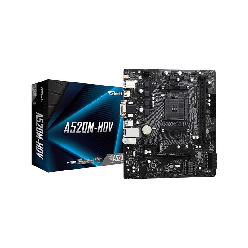 Asrock A520M-HDV R4.0 Mainboard