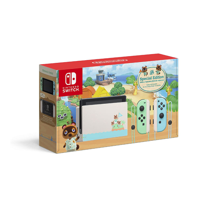 Nintendo Switch: Animal Crossing Limited Edition (Asia) Console