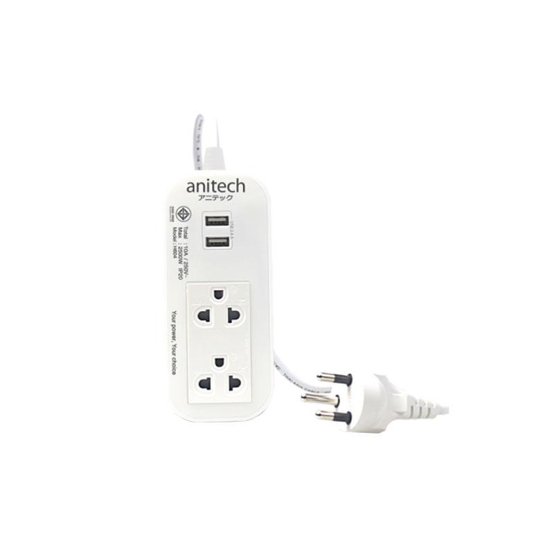 ปลั๊กไฟ Anitech H622