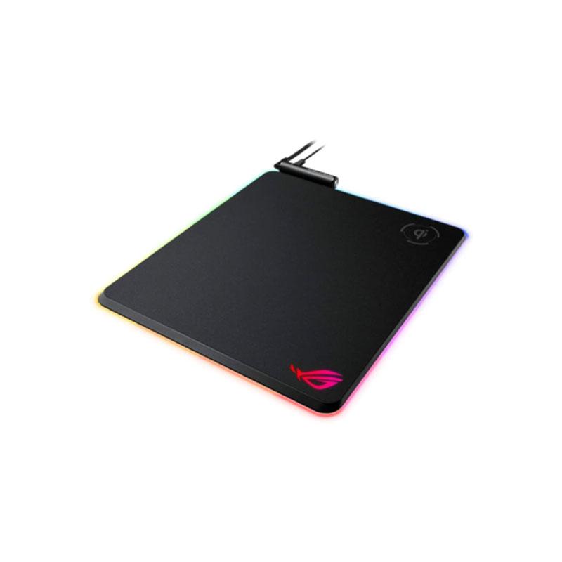 แผ่นรองเมาส์ Asus ROG BALTEUS QI RGB Mousepad