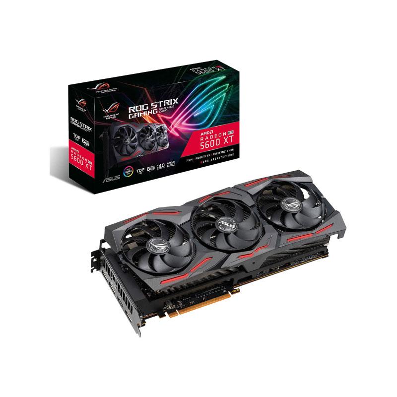 การ์ดจอ Asus ROG STRIX RX 5600 XT T6G 6GB GDDR6 192 Bit VGA