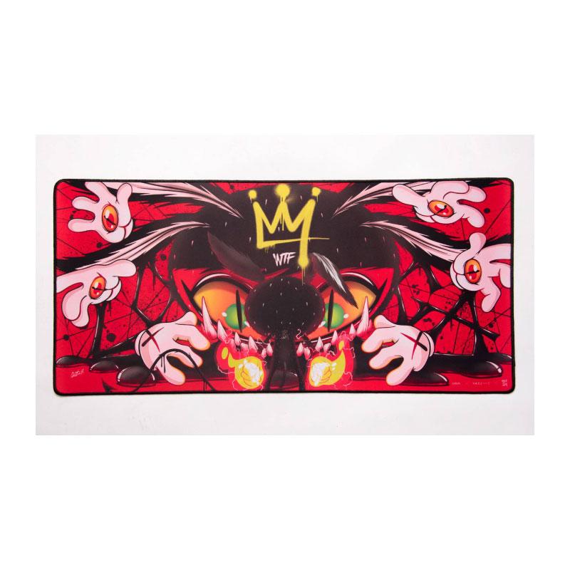 แผ่นรองเมาส์ Loga X V.A.C Bloodbath Mousepad