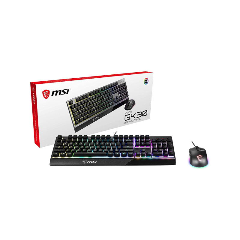 MSI Vigor GK30 Combo US (104 keys) KB + GM11 mouse